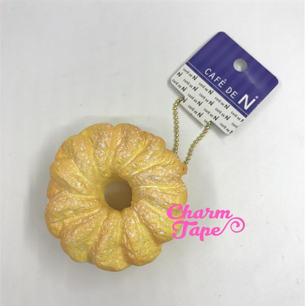 Cafe de N small piece of Cruller squishy cellphone charm