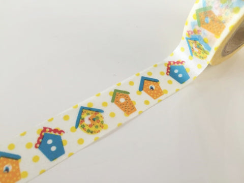 Copy of Summer Orange - Washi Tape 15mm x 10 meters WT834 - CharmTape - 1