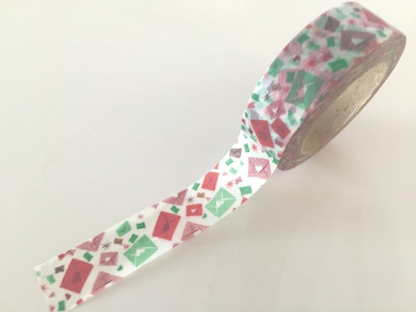 Love Letter Washi Tape 8m x 15mm WT859 - CharmTape - 2