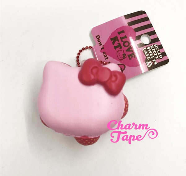 Hello Kitty Berry Macaroon Squishy cellphone charm by Sanrio