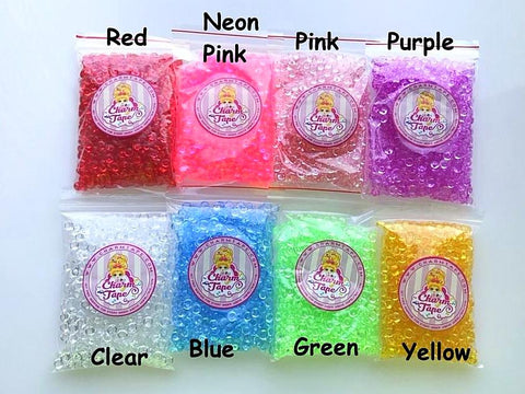 Fishbowl Beads for making Crunchy Slime 75g/150g/225g
