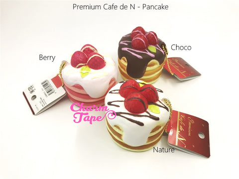 Premium Cafe de N Pancake squishy cellphone charm