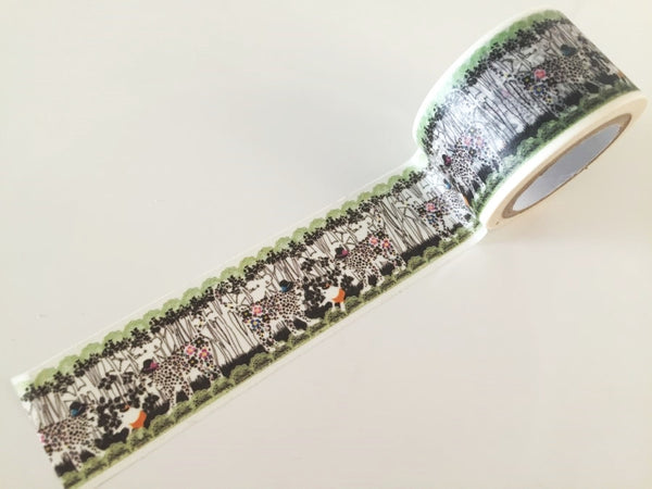 Mirror Leopard Wild cat - Big Washi Tape 30mm x 8 meters WT878 - CharmTape - 2