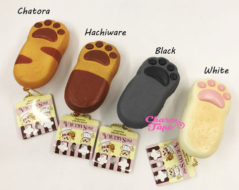 Kitty Cat Paw Squishy cellphone charm by Cafe Sakura