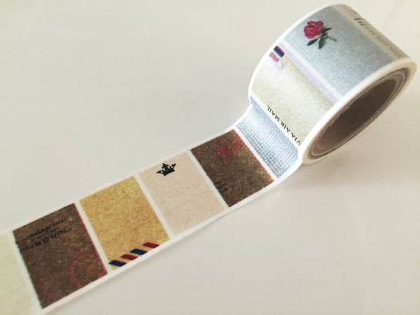 Rustic Labels Big Washi Tape 30mm x 10 meters WT887 - CharmTape - 1