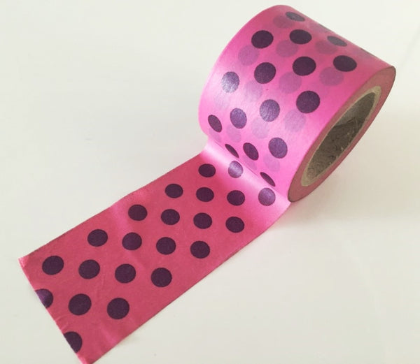 Huge Dotted Big Washi Tape 38mm x 10 meters WT881 - CharmTape - 2