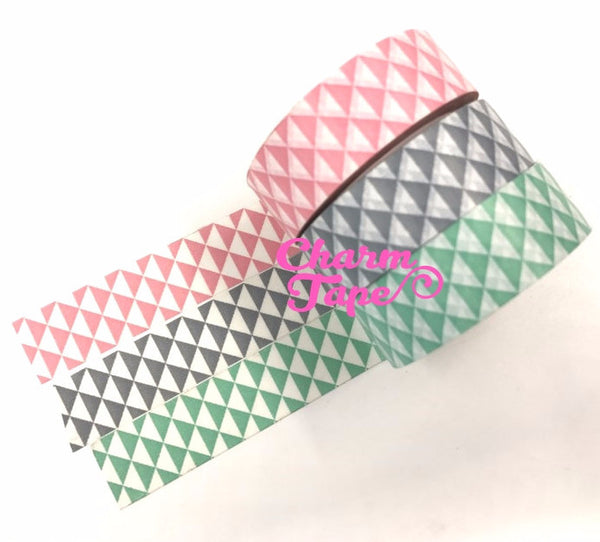 Triangles Washi Tape 15mm x 10m WT433