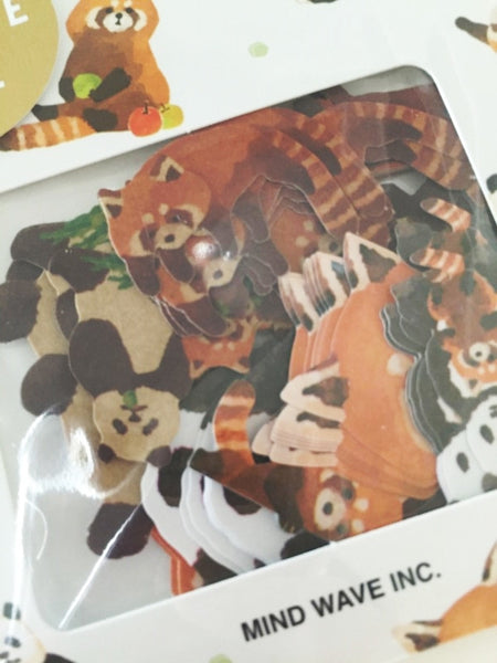 Copy of Zoo animals Sticker Flakes Set 70 Sheets Mindwave Japan SS912 - CharmTape - 4