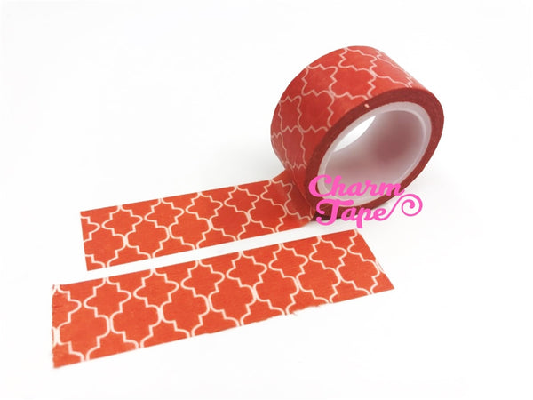Big Washi Tape Roll - Moroccan inspire pattern  (20mm x 5 meters) WT665