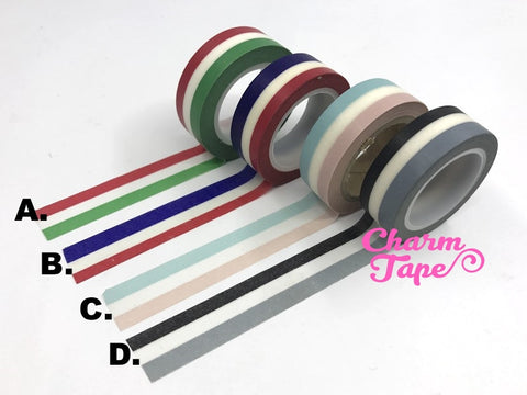 Flag like Stripe Washi Tape 1.5 cm x 10 meters WT264