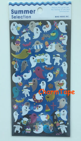 Ghosts & Zombie stickers by Mindwave 1 Sheets SS427
