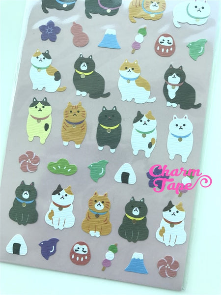 Fat Cat Kitten sticker by Mindwave 1 Sheets SS555