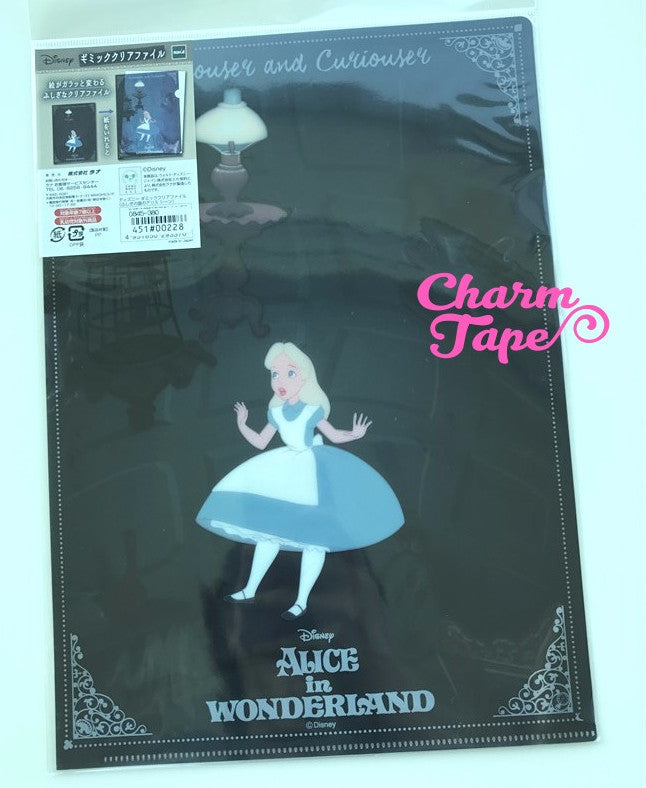 Alice in Wonderland - Disney Plastic File Folder A4