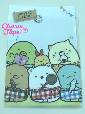 San-x Sumikko Gurashi A4 plastic file folder : Home Party