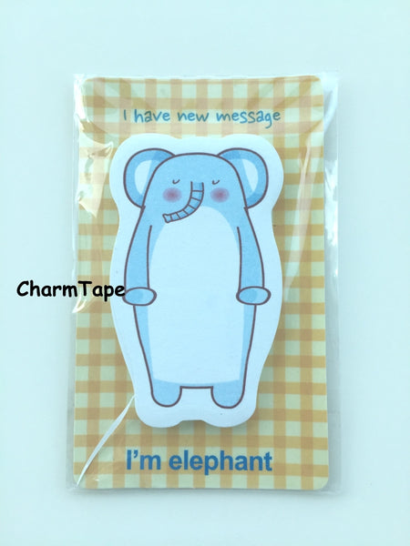 Zoo Animal Sticky Post It Memo Note 30 sheets - CharmTape - 6