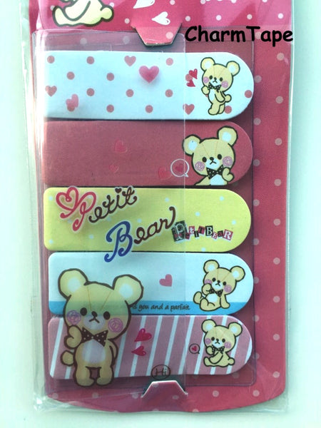 Petit Bear Sticky Post It Memo Note Pad 100 sheets SS782 - CharmTape - 2