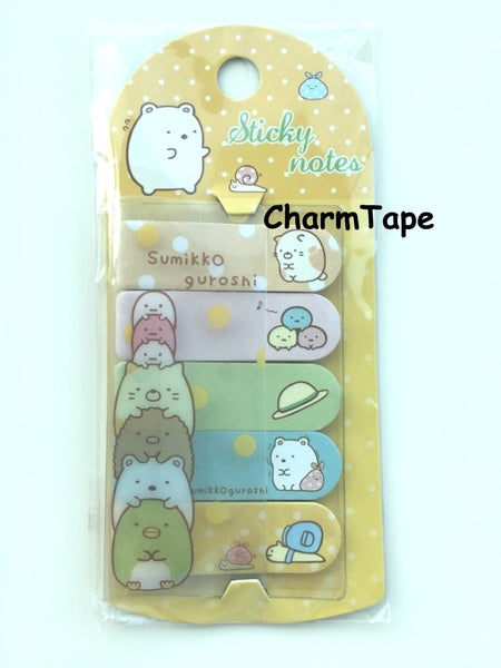 Guroshi Sticky Post It Memo Note Pad 100 sheets SS779 - CharmTape - 1