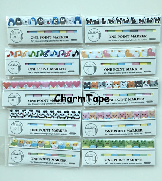 Baby Penguin & Polar Bear Sticky Post It Memo Note Pad 150sheets SS791 - CharmTape - 2