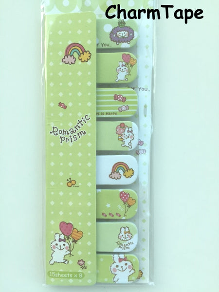 120 sheets Lovely Animal Sticky Notes / Stick Marker / Memo SS768 - SS773 - CharmTape - 3