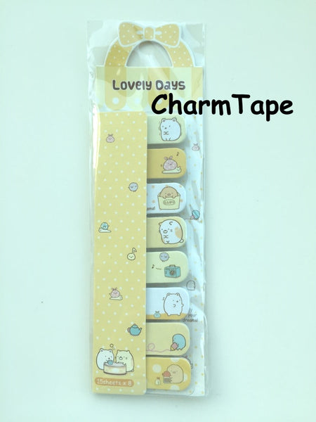 120 sheets Lovely Animal Sticky Notes / Stick Marker / Memo SS768 - SS773 - CharmTape - 5