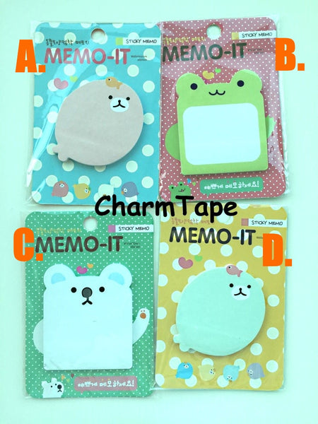 Sticky Post It Memo Note Pad 30 sheets - CharmTape - 1