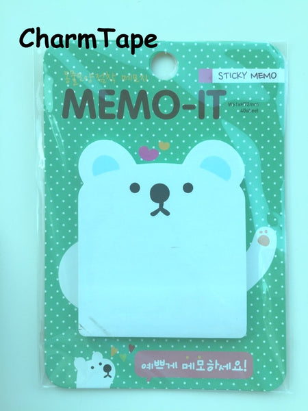 Sticky Post It Memo Note Pad 30 sheets - CharmTape - 6