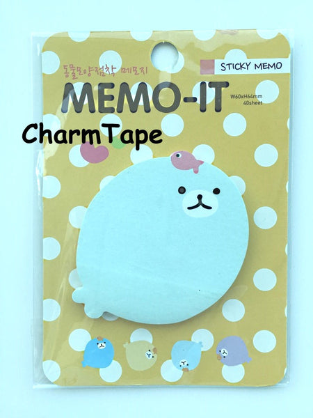 Sticky Post It Memo Note Pad 30 sheets - CharmTape - 8