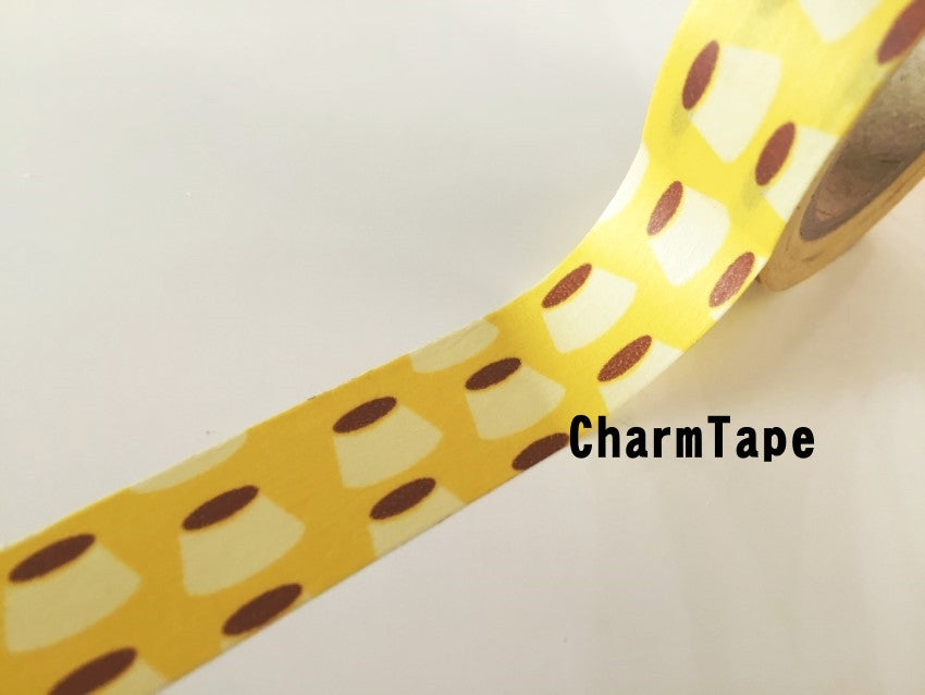 Copy of Butterflyfish Fish Washi tape 15mm x 10m wt910 - CharmTape - 1