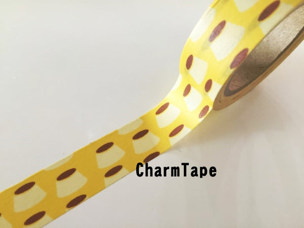 Copy of Butterflyfish Fish Washi tape 15mm x 10m wt910 - CharmTape - 4