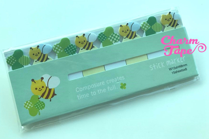 Honey Bee Sticky Post-It Memo Note Pad 120 sheets