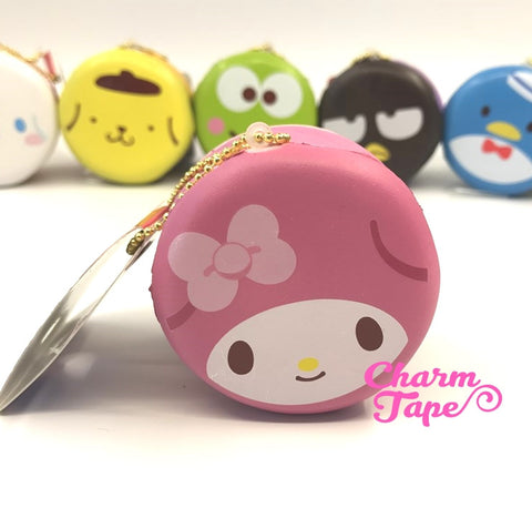 My Melody round cake Puchi cake sweet treat squishy for bag