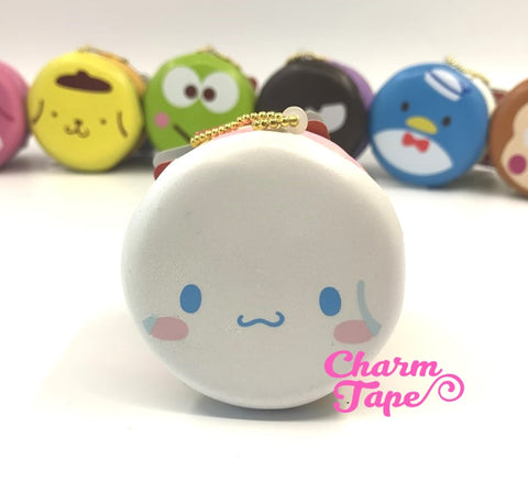 Cinnamoroll round cake Puchi cake sweet treat squishy for bag