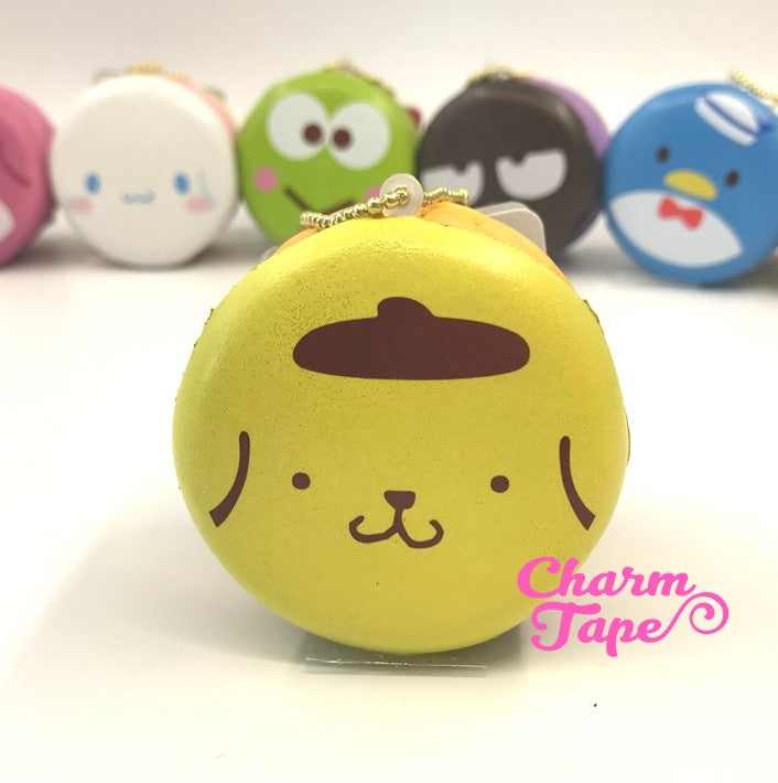 Pompompurin round cake Puchi cake sweet treat squishy for bag