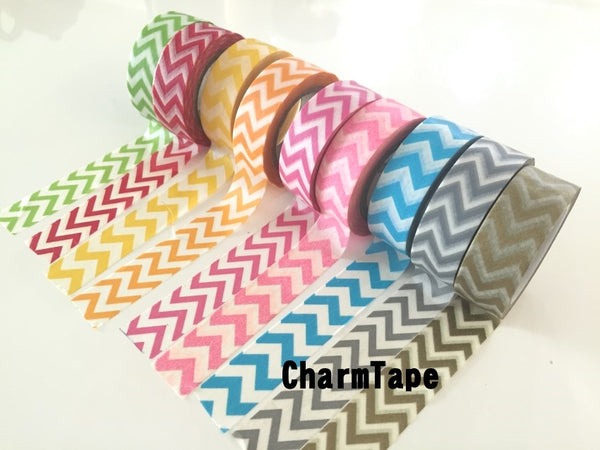 Zigzag chevron Washi Tape 15mm x 10m WT1000