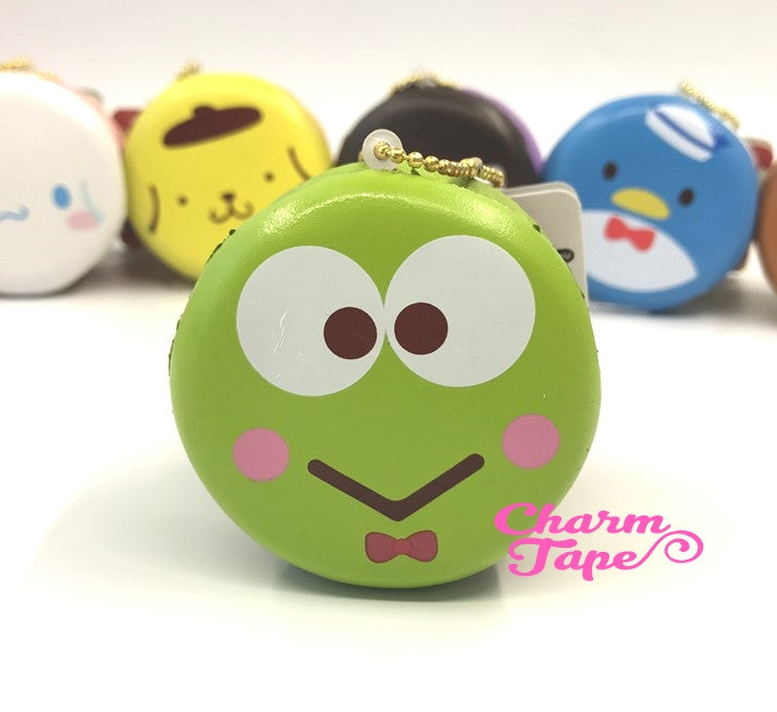 Keroppi round cake Puchi cake sweet treat squishy for bag