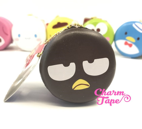 Badtz-Maru round cake Puchi cake sweet treat squishy for bag by Sanrio