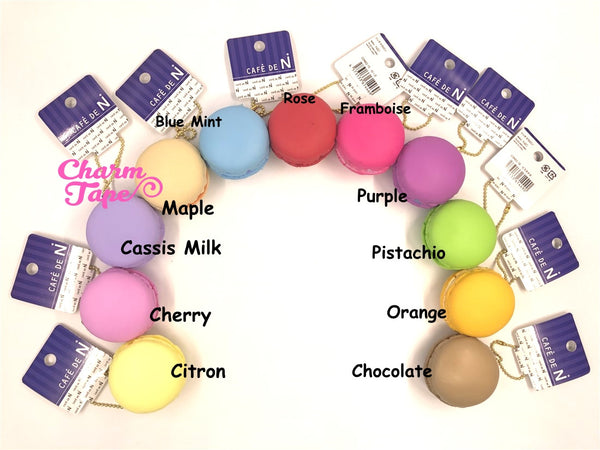 Cafe de N Beige Maple macaroon squishy charm kawaii
