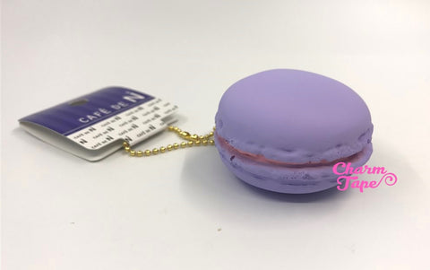 Cafe de N Light Purple Cassis Milk macaroon squishy charm kawaii
