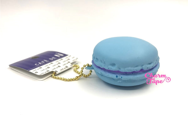 Cafe de N Pastel Blue Mint macaroon squishy charm kawaii