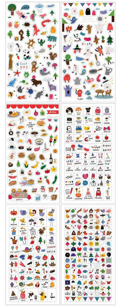 Sticky Stickers - 6 sheets set - I'm sticker SS1019 - CharmTape - 2