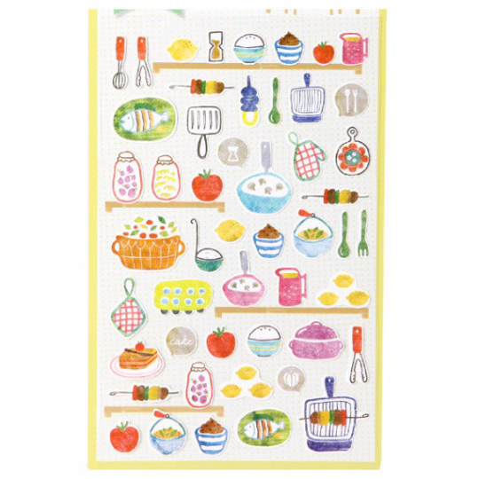 Kitchen utensil pre-cut sticker 1 Sheets by Sonia SS238 - CharmTape - 2