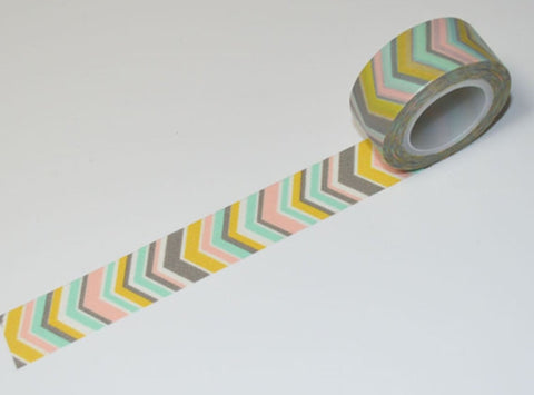 Big V Washi Tape - Arrow Vertical V 10 meters 19mm WT579