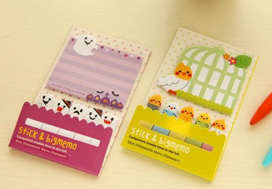 Sticky Post It Memo Note Pad 120 sheets - CharmTape - 6