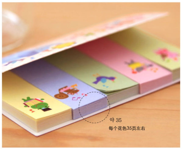 Little Lamb Sticky Post It Memo Note Pad 210 sheets SS267 - CharmTape - 3