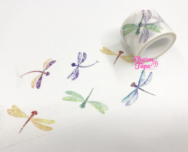 Dragonfly Big Washi Tape (30mm x 5m) WT990