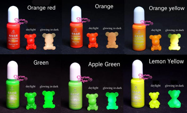 Glow in The Dark Color Pigment - Colorant Pigment Dye for Resin Coloring - 10g Resin dye