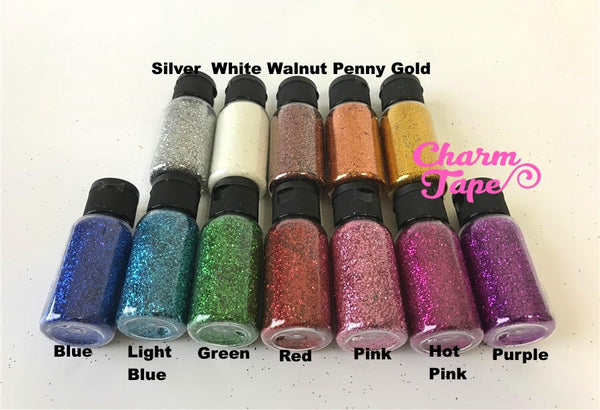 Holographic Color glitters, Bottle glitter dust UV resin, acrylic nail, nail polish Extra Fine Embellishment Costume Craft
