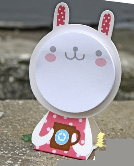 Post-it Memo or Card - Stand up Rabbit SS710 - CharmTape - 1