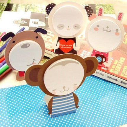 Post-it Memo Pad or Card - Monkey SS709 - CharmTape - 3