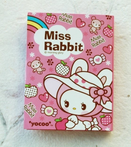 Post It Memo Pad - Miss Rabbit Polka dots - CharmTape - 1